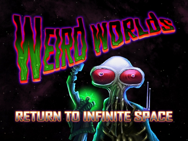 Weird Worlds for iPad!